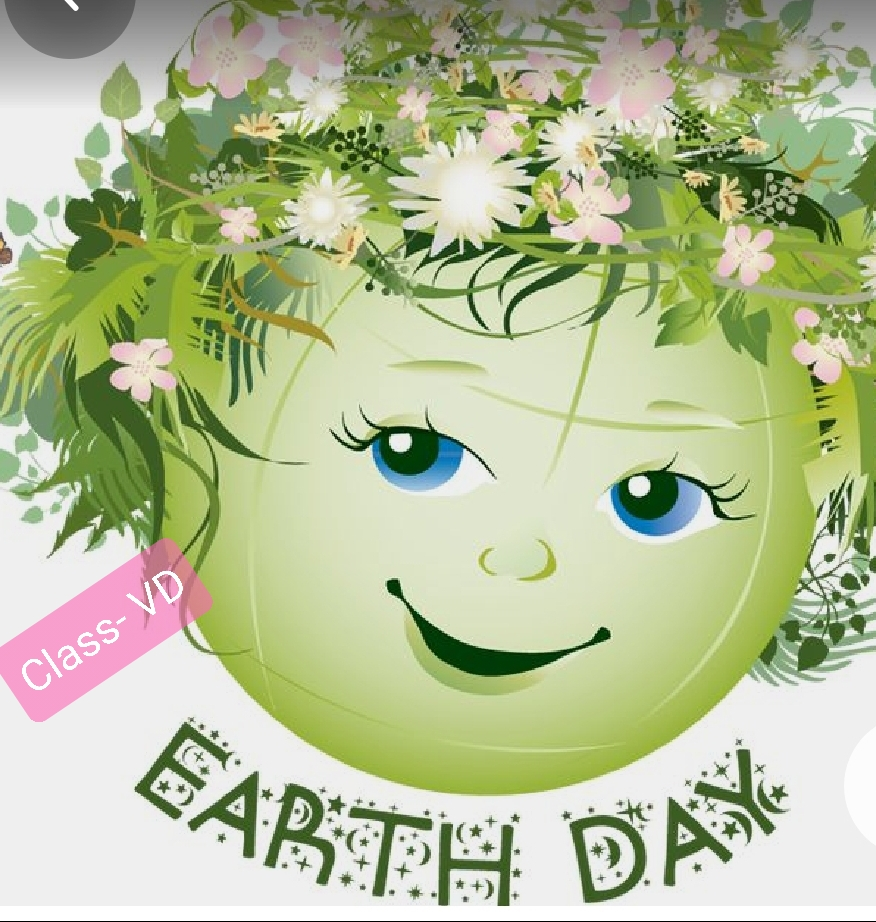 Celebration of World Earth Day in Primary Block