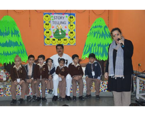 Story Telling in Pre-Primary