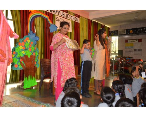 Story Telling Class 1 & 2 (Primary)